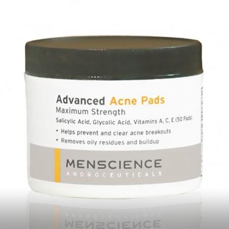 Anti acné 50 cotons imbibés Advanced acne pads