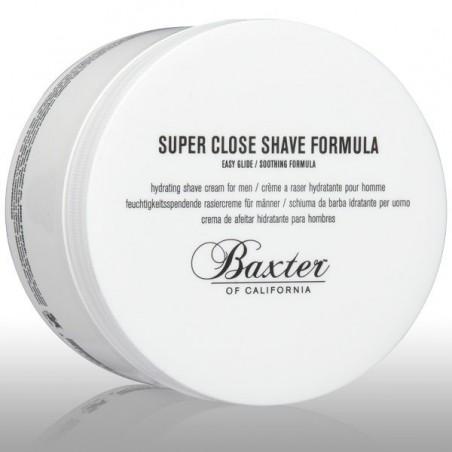 Crème de rasage hydratante Super Close Shave Baxter