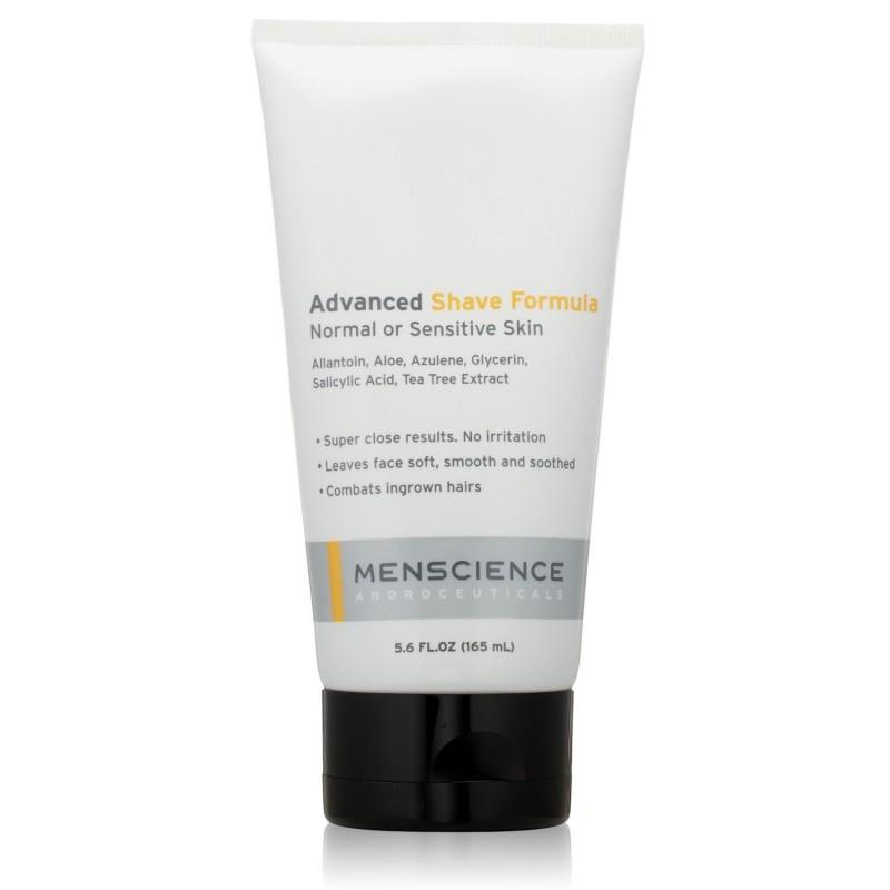 Formule rasage peau sensible sans mousse, évite irritations
