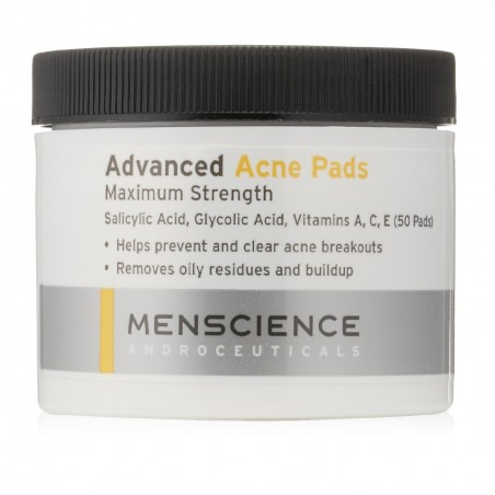Anti acné 50 cotons imbibés - Advanced acne pads