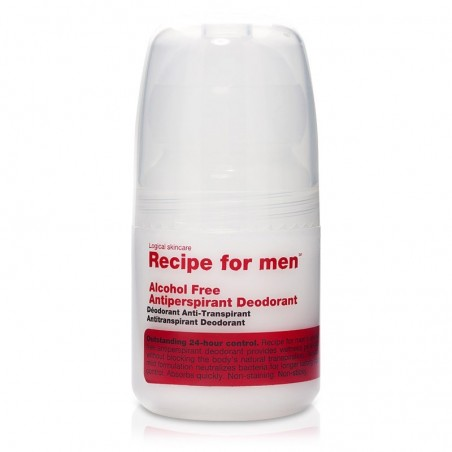 Déodorant à bille anti-transpirant - Sans alcool