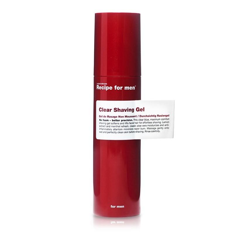 Gel de rasage anti-inflammatoire - Acide hyaluronique