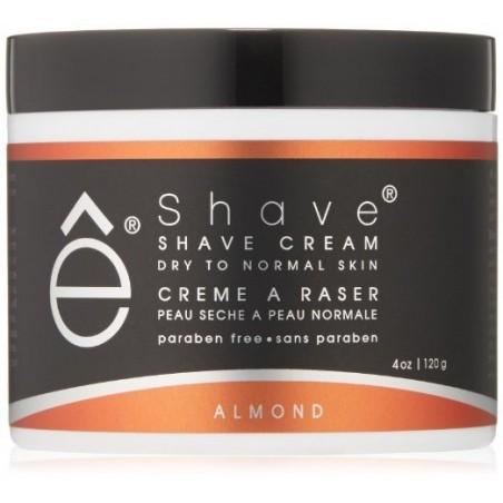 Crème de rasage amande - Hydrate peau normale à sèche