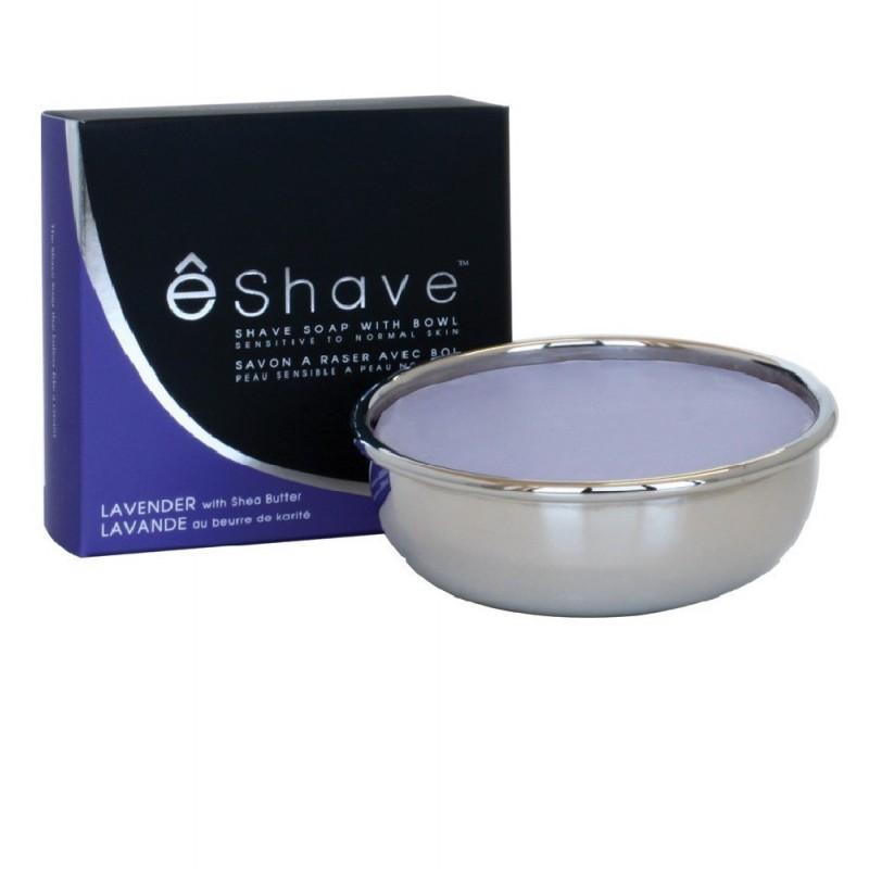 Savon à barbe parfumé bol Inox - 3 parfums au choix