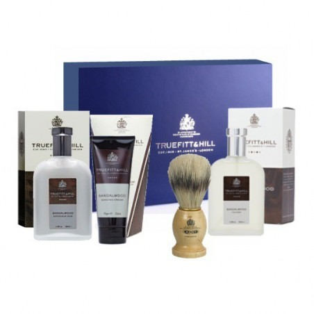 Coffret Truefitt and Hill - Collection Sandalwood (Bois de santal)