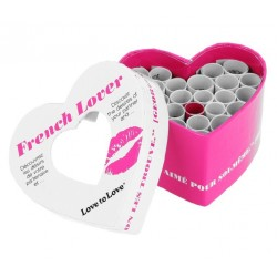 Mini Coeur spécial St-Valentin French Lover 21 défis Love