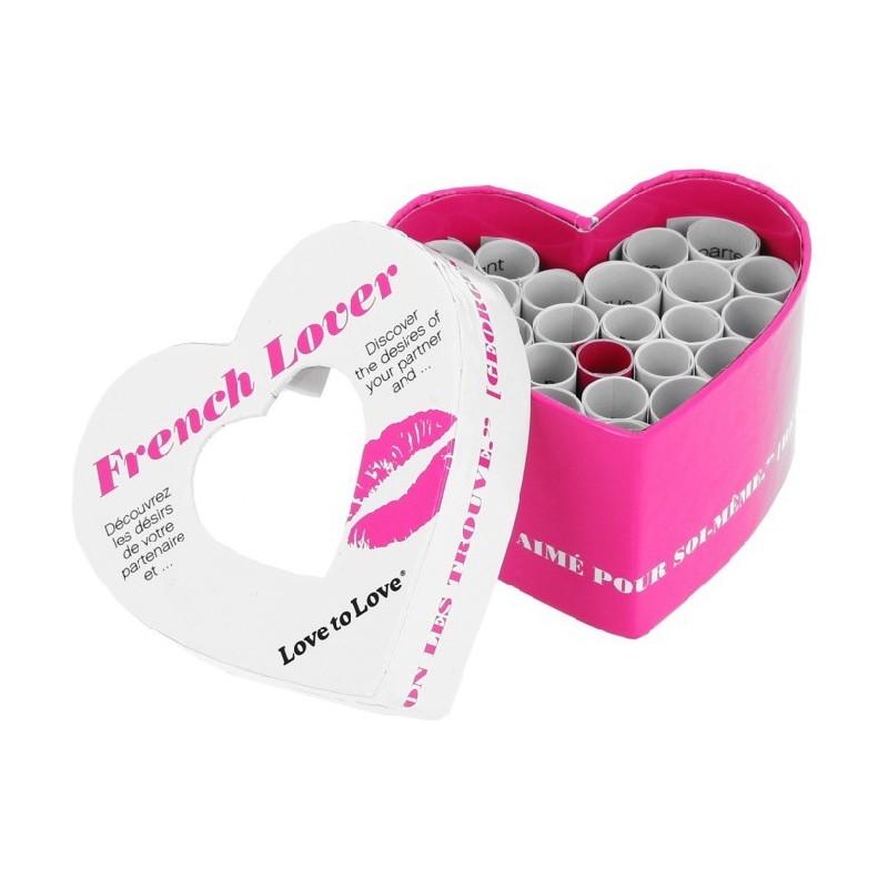 Mini Coeur spécial St-Valentin French Lover 21 défis Love
