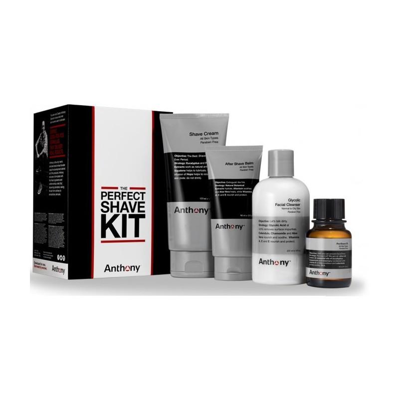 Kit de rasage Perfect Shave Kit