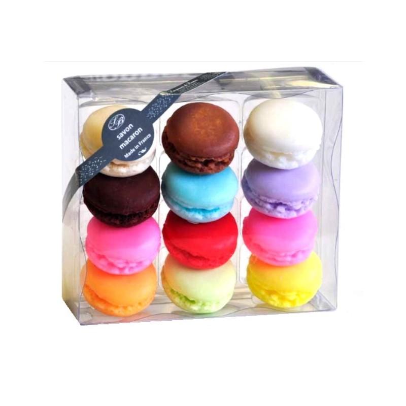 Composition de 12 Savons Macarons