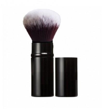 Pinceau Kabuki rétractable noir brillant
