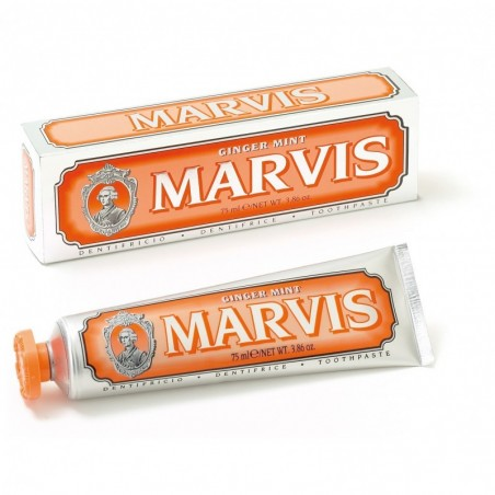 Dentifrice Gingembre Orange Marvis