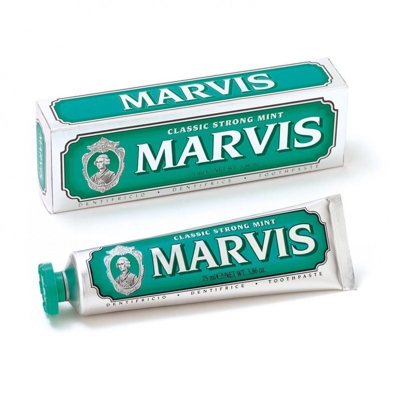 Dentifrice Menthe Forte Vert Marvis