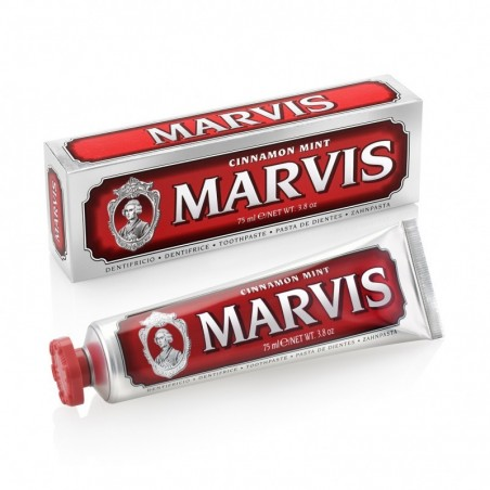 Dentifrice Menthe Cannelle Rouge Marvis