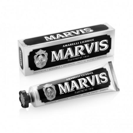 Dentifrice Menthe Réglisse Noir Marvis