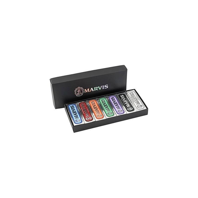 Coffret Boîte luxe Marvis - 7 dentifrices de référence