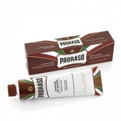 Crème à raser en tube Karité & Bois de santal - Proraso