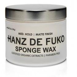 Cire coiffante forte tenue fini mat Sponge Wax