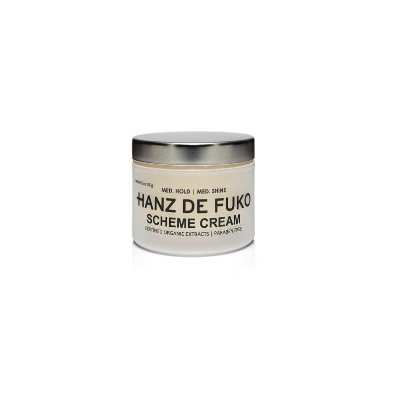Cire coiffante brillance naturelle Scheme Cream