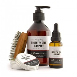 Kit de soins et entretien de la barbe BROOKLYN SOAP