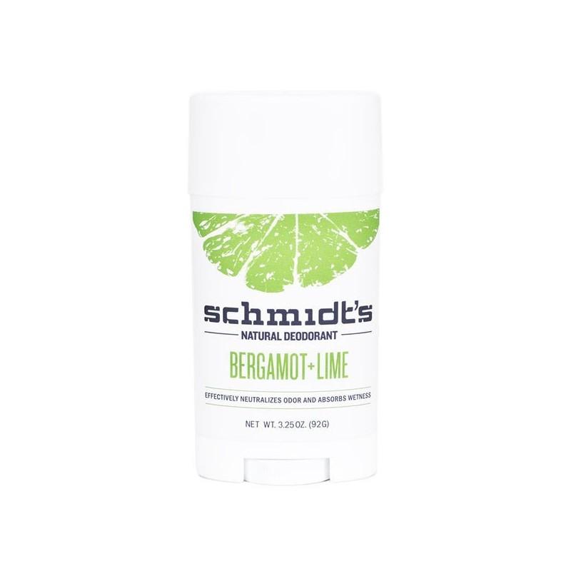 Déodorant naturel Bergamote + Citron vert