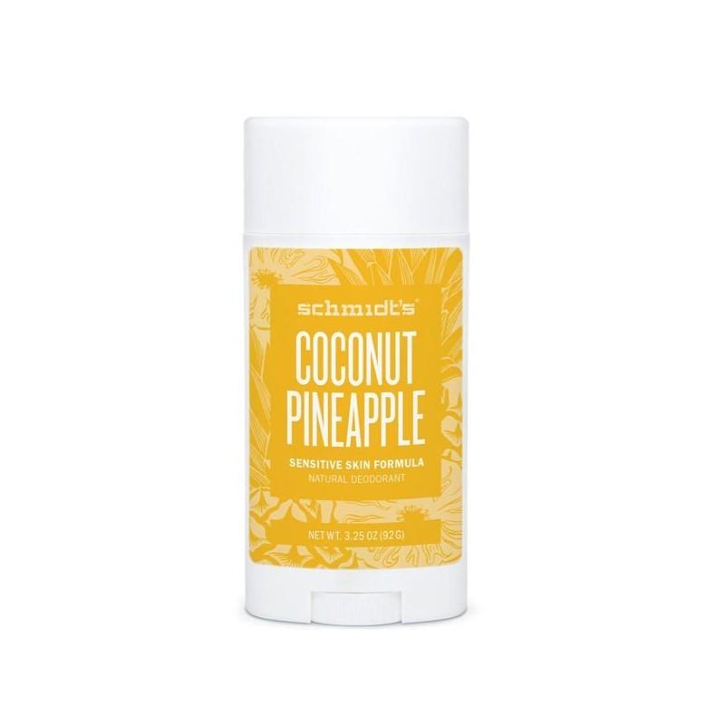 Déodorant naturel Ananas + Coco pour peaux sensibles
