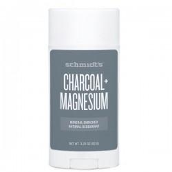Déodorant naturel Charbon actif + Magnésium pour peaux sensibles