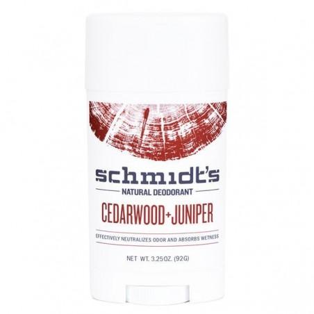 Déodorant naturel Cèdre + Genévrier pour peaux sensibles