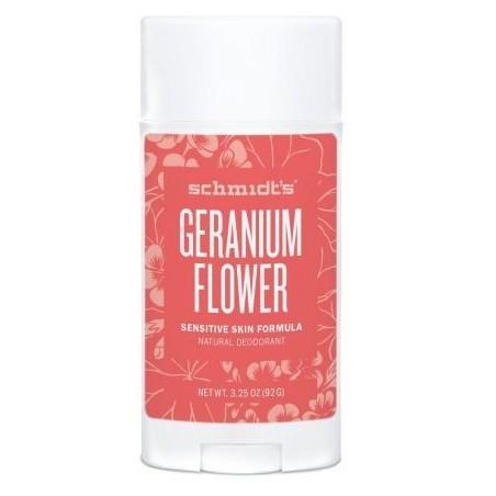 Déodorant naturel Fleur de Géranium pour peaux sensibles