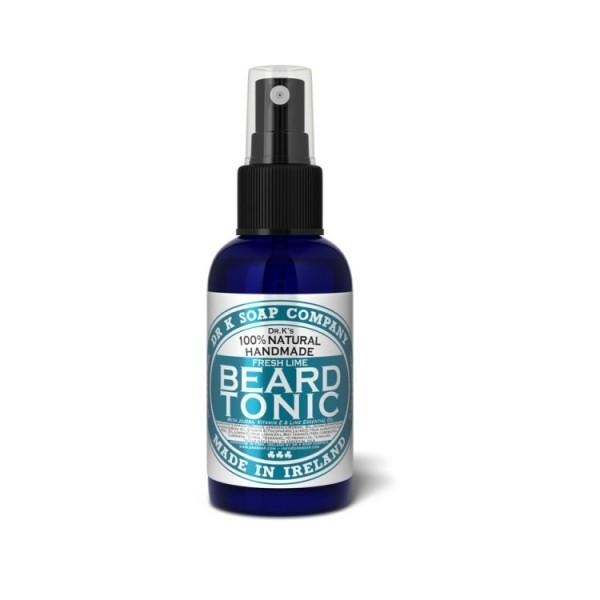 """Huile à Barbe Tonic 100% naturelle """"Fresh Lime"""" - Dr K Soap"""