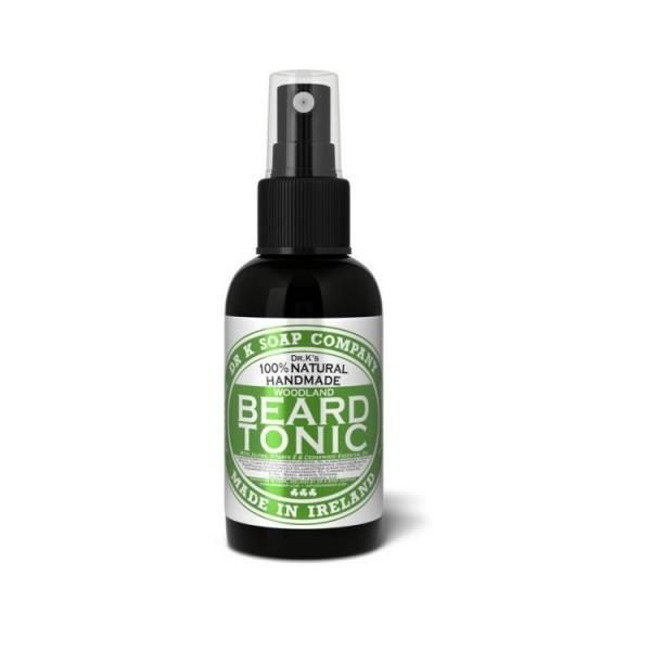 "Huile à Barbe Tonic 100% naturelle ""Woodland"" - Dr K Soap"