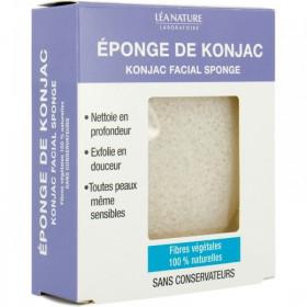 Eponge de Konjac en fibres végétales 100% naturelles