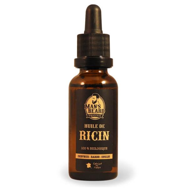 Huile de Ricin 100% biologique - Cheveux Barbe Ongles