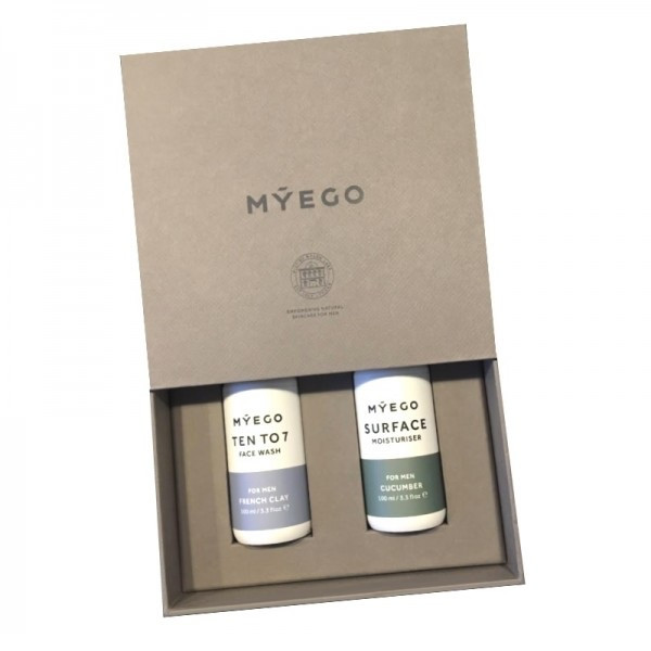 """Coffret soins cosmetique pour homme """"Morning Duo"""" - Myego"""