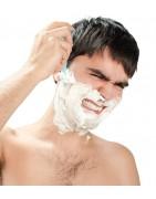 Rasage sensible feux de barbe